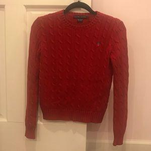 Polo Ralph Lauren Cable Knit Cotton Sweater - XS